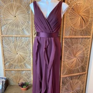 Vera Wang White Label Formal Wine Dress Size 4